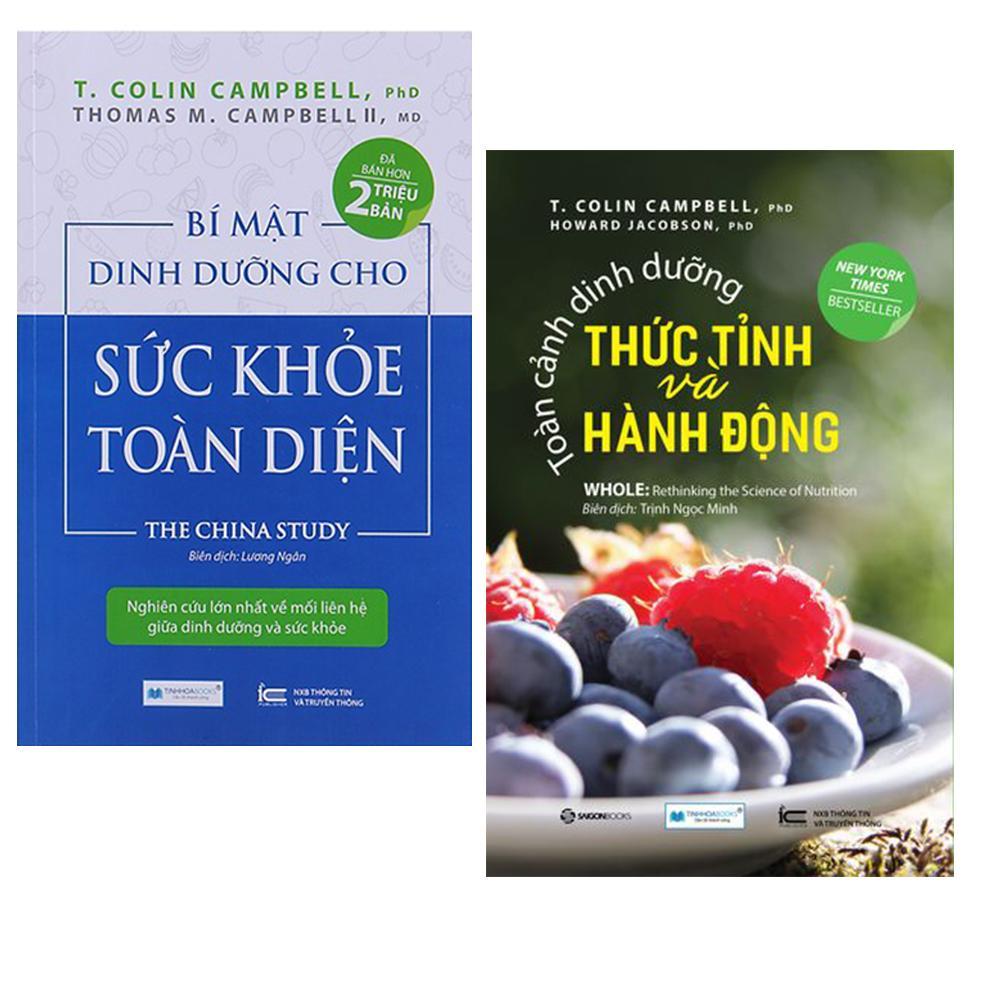 Mua Combo Sách Bí mật dinh dưỡng cho sức khỏe toàn diện + Toàn cảnh dinh dưỡng thức tỉnh và hành động