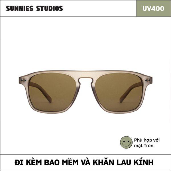 Giá bán Kính mát Sunnies Studios Gọng Vuông Yann in Elm