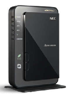 Router wifi NEC Aterm WR9500N-HP (Wifi, router, modem) thumbnail