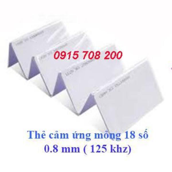 Giá bộ 10 thẻ chấm công từ 0.8mm 18 số