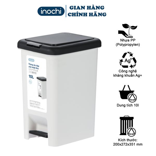 thùng rác đạp chân - thùng rác chân đạp - thùng rác thông minh - thùng rác inochi - thùng rác - thùng rác công sở - thùng rác văn phòng - thùng rác gia đình - thùng rác nhựa - thùng rác vuông - sọt rác- sọt rác văn phòng