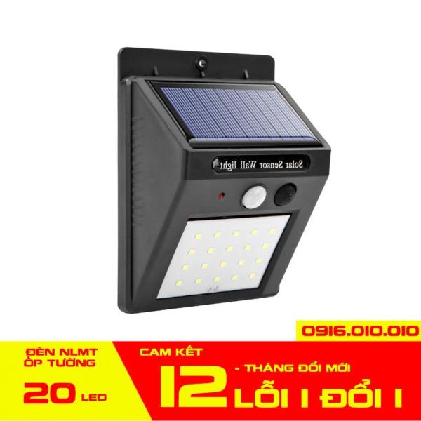 Đèn năng lượng mặt trời cảm biến hồng ngoại 100 - 40 - 30 - 20 LED -  Đèn năng lượng mặt trời cảm biến chuyển động ốp tường