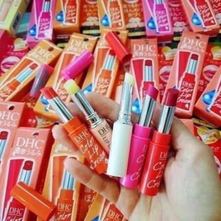 [Có MÃ Giảm Giá] Son Dưỡng Môi DHC Pure Color Lip Cream Stick 1.5g làm môi hồng quyến rũ - Laha Shop thumbnail