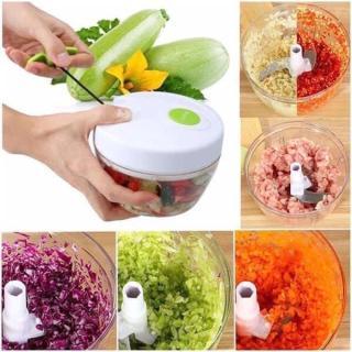 Dụng cụ xay thực phẩm bằng tay, Dụng cụ băm nhỏ thực phẩm Easy Spin Cutter thumbnail