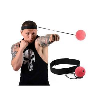 Bóng phản xạ - bóng tập phản xạ - bóng đấm phản xạ treo đầu - Dụng cụ hỗ trợ luyện phản xạ tối ưu dành cho dân chuyên, cá nhân, phòng tập thumbnail