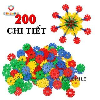 Đồ Chơi Trẻ Em Túi Xếp Hình 200 CHI TIẾT Bông Hoa Tuyết Nhựa Nguyên Sinh An Toàn Nhiều Màu Sắc Giúp Trẻ Từ 3 Tuổi Trở Lên Phát Triển Trí Tưởng Tượng Và Tư Duy Sáng Tạo thumbnail