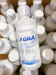 Nước ngâm lens AQUA , nước rửa kính áp tròng AQUA thumbnail
