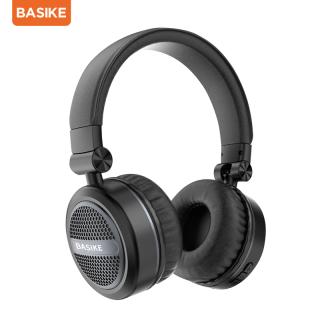 [HÀNG MỚI] Tai nghe chụp tai chống ồn BASIKE TW75 kết nối Bluetooth 5.0, pin sạc sử dụng liên tục trong 8 tiếng, hỗ trợ nghe nhạc, chơi game, gọi thoại, tích hợp được các dòng BASIKE(TW75) thumbnail