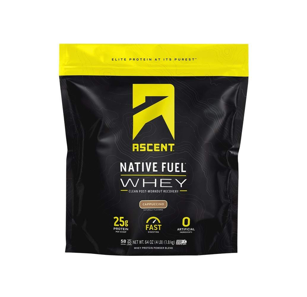 Ascent Native Whey Protein 1.82kg chứng nhận  Informed Sport Certified  - Tăng cơ tự nhiên