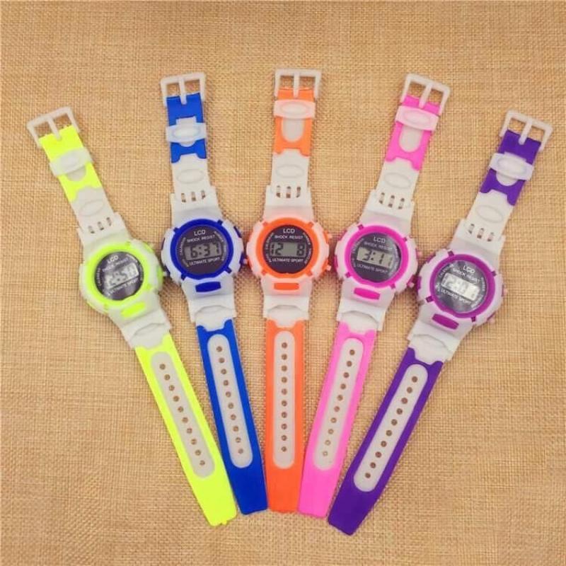 Nơi bán Đồng hồ thời trang trẻ em led SHOCK RESIST MS011