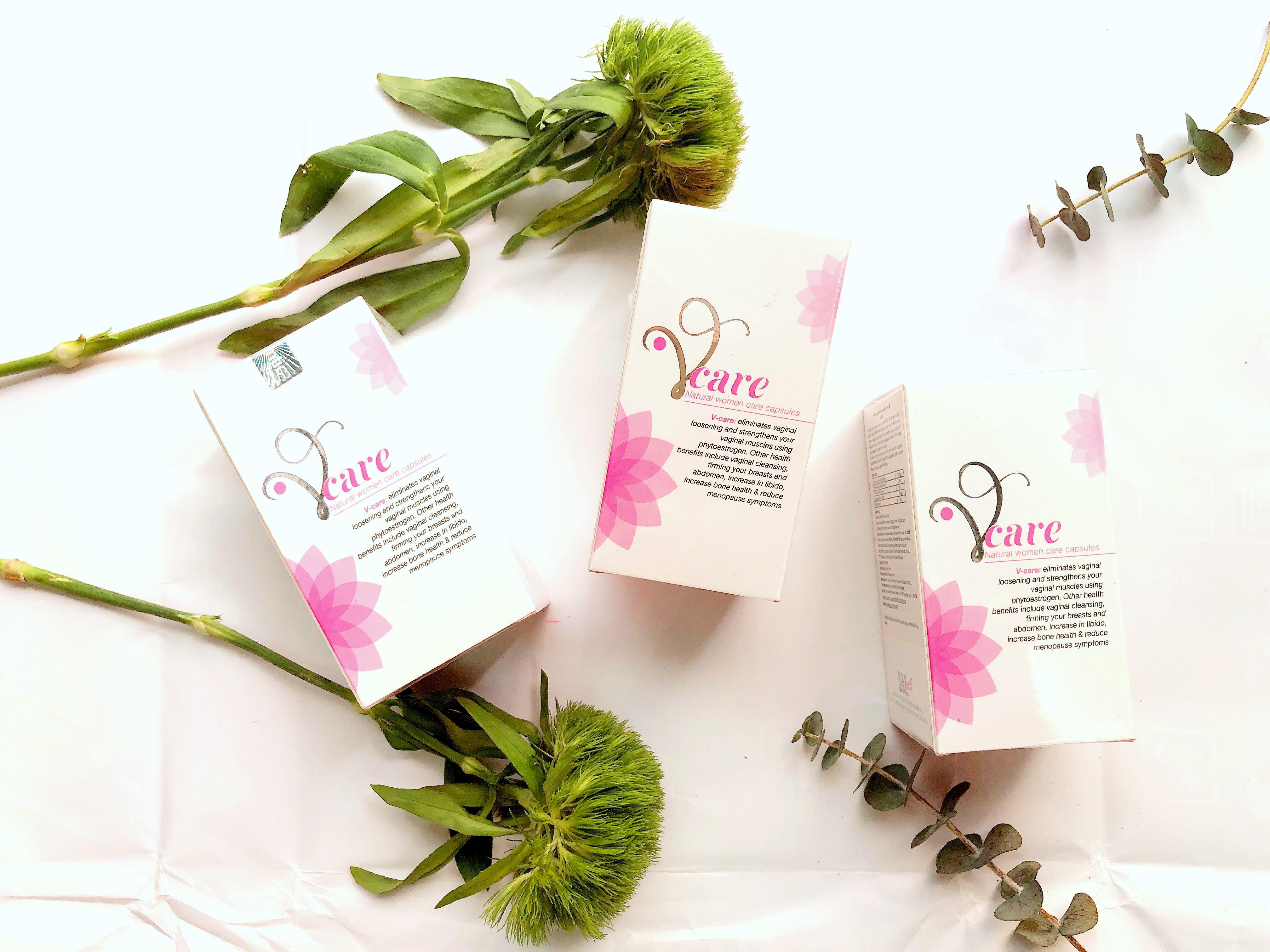 Viên uống nội tiết nữ Vcare nhập khẩu Mỹ cao cấp