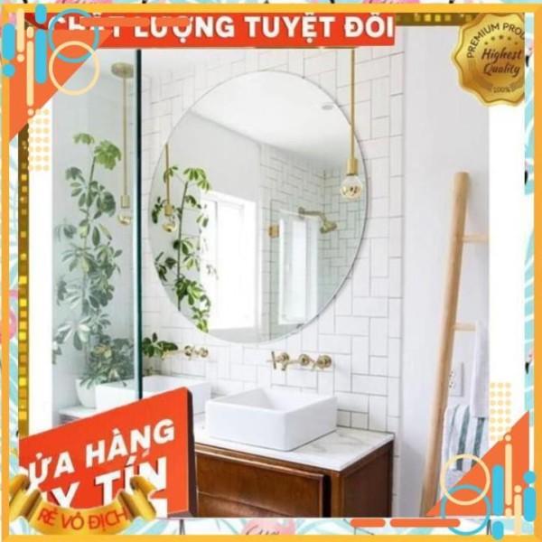 [Giá Hủy Diệt] Gương Tròn Nhà Tắm - Đường Kính D40, D50, D60 giá rẻ