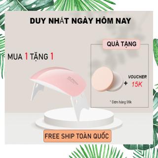 (FREE SHIP 18K )Máy hơ gel SUN MINI NAIL360 chuyên dùng cá nhân làm móng tay hơ sơn gel, base top gel, màu gels Khuyến mãi cực sốc (TẶNG QUÀ TRÊN MỖI ĐƠN HÀNG) thumbnail