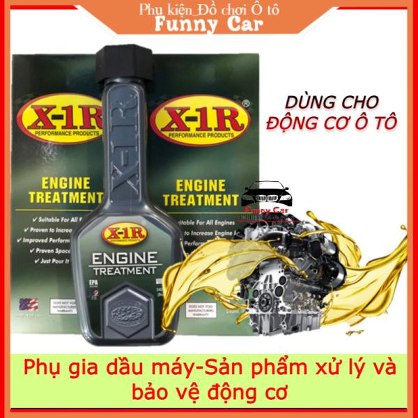 [X1R] Phụ gia dầu máy - Sản phẩm xử lý và bảo vệ động cơ Ô tô. Nhập khẩu chính hãng từ USA