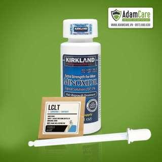 Thuốc Mọc Râu Tóc Minoxidil 5% Tặng bột LCLT