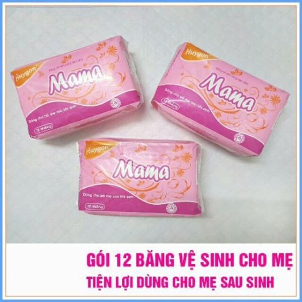 Gói 12 miếng Băng Vệ Sinh Mama Cho Mẹ Sau Sinh