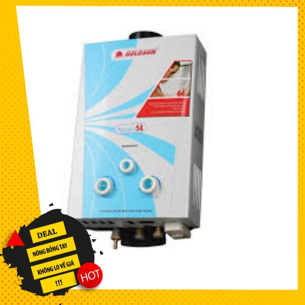 Deal Khuyến Mãi Bình Nóng Lạnh Dùng Gas Goldsun GHS6L