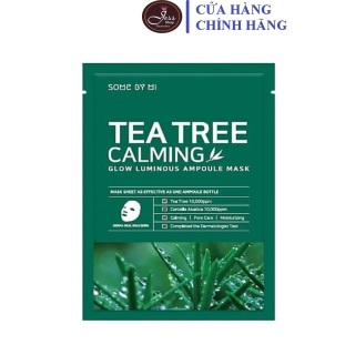 Mặt Nạ Giảm Mụn Some By Mi Tea Tree Calming Sheet Mask 25g thumbnail