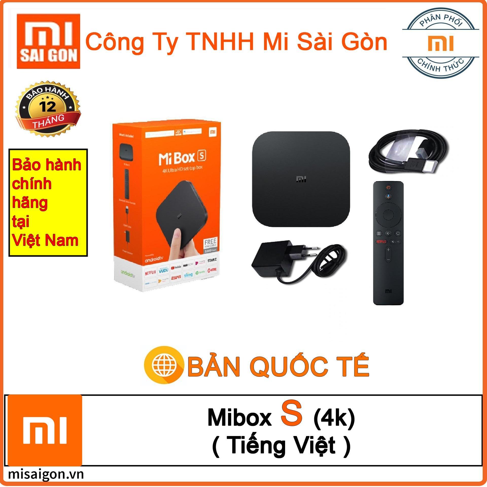 Bảng giá Xiaomi Mibox S (4K) Android Quốc Tế Tiếng Việt (Digiwolrd phân phối)