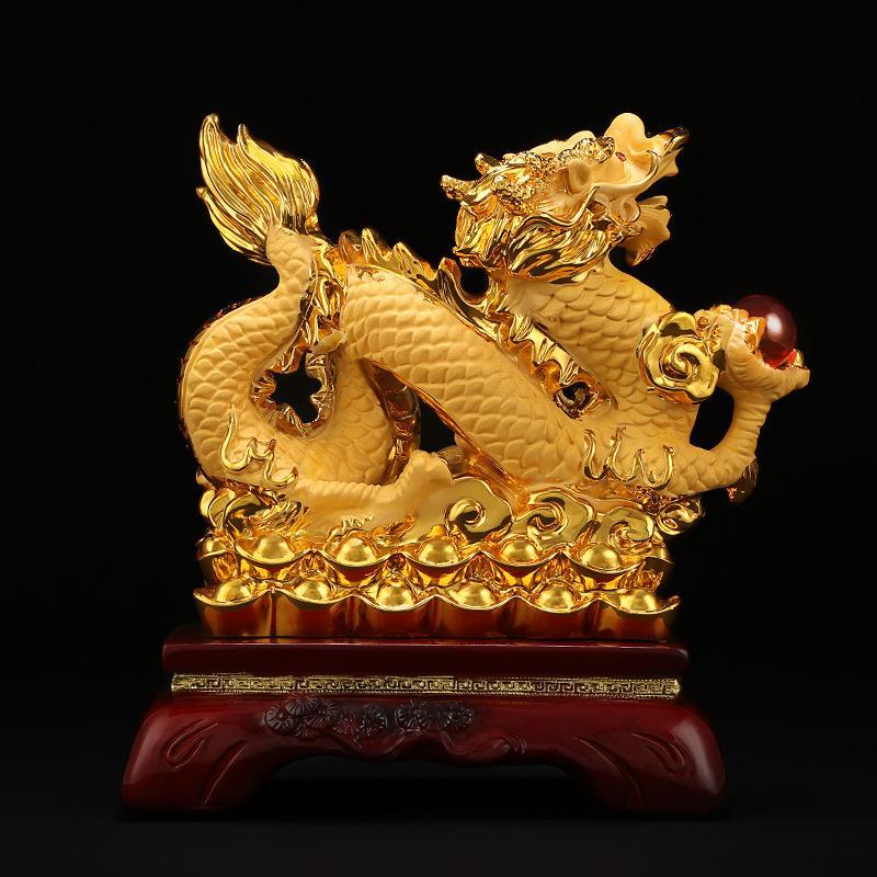 Mua Tượng rồng vàng phong thủy