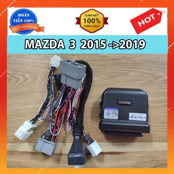 Tự Động Gập Gương Và Lên Xuống Kính Xe Mazda 3 2015-2019 chuẩn hãng LASIXI