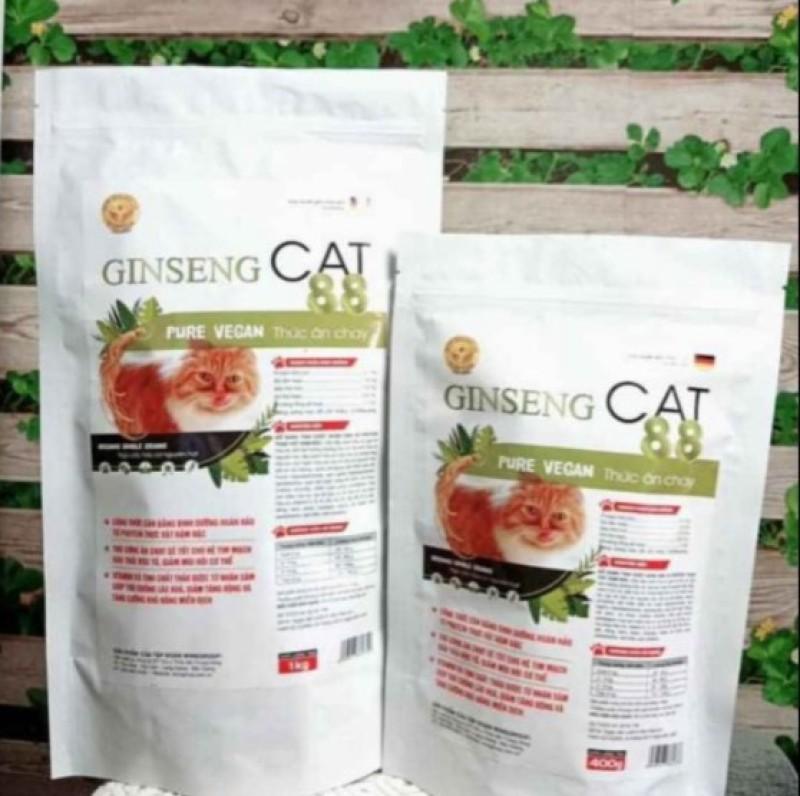 Thức ăn chay Ginseng Cat giúp đào thải độc tố cho mèo