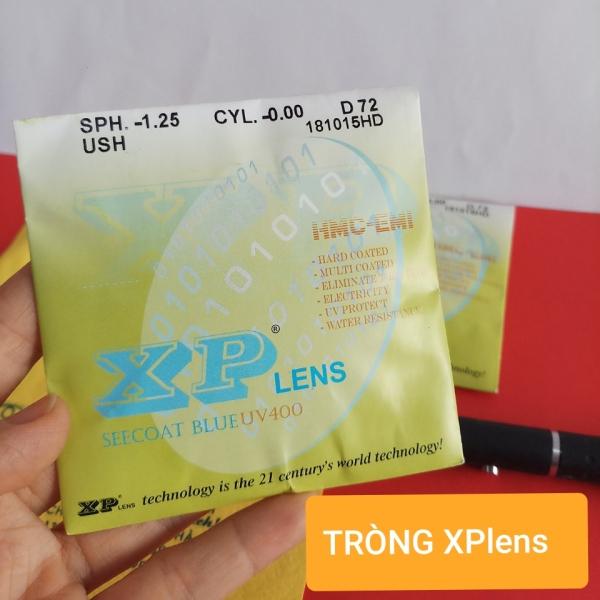 Giá bán Tròng Mắt Cắt Ánh Sáng Xanh XPlens (Nhận cắt kính theo đơn) - Kính Mắt Tiến Thành