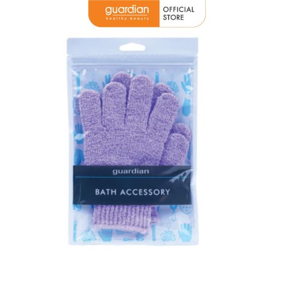 Găng tay tắm Guardian tẩy tế bào chết – 1 đôi cao cấp