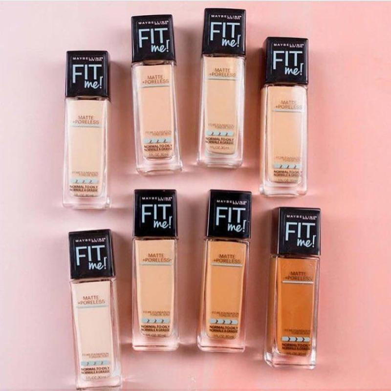 MAYBELLINE KEM NỀN FIT ME MATTE & PORELESS FOUNDATION