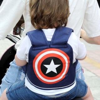 Đai địu xe máy an toàn cho bé, Đai an toàn đi xe máy cho bé trai bé gái, địu xe máy cho bé từ 1-5 tuổi ( shop giao màu ngẫu nhiên ) thumbnail