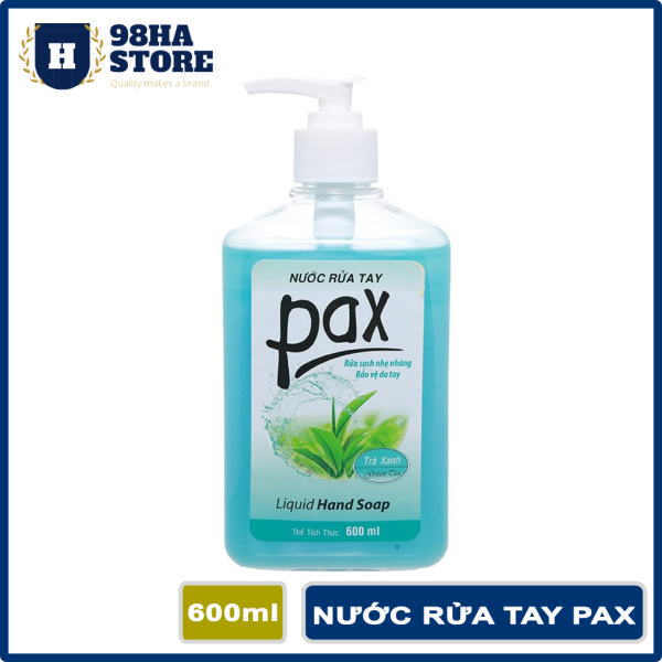Nước Rửa Tay PAX 600ml Sữa Rửa Tay Sát Khuẩn Dưỡng Ẩm Bảo Vệ Da