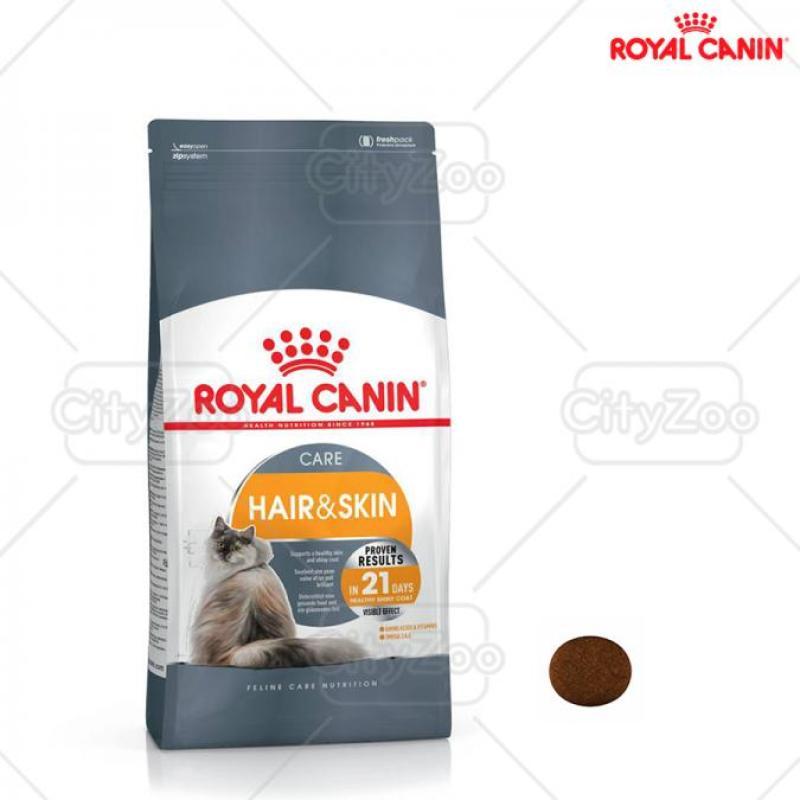 ROYAL CANIN HAIR & SKIN – CHĂM SÓC DA VÀ LÔNG 2kg
