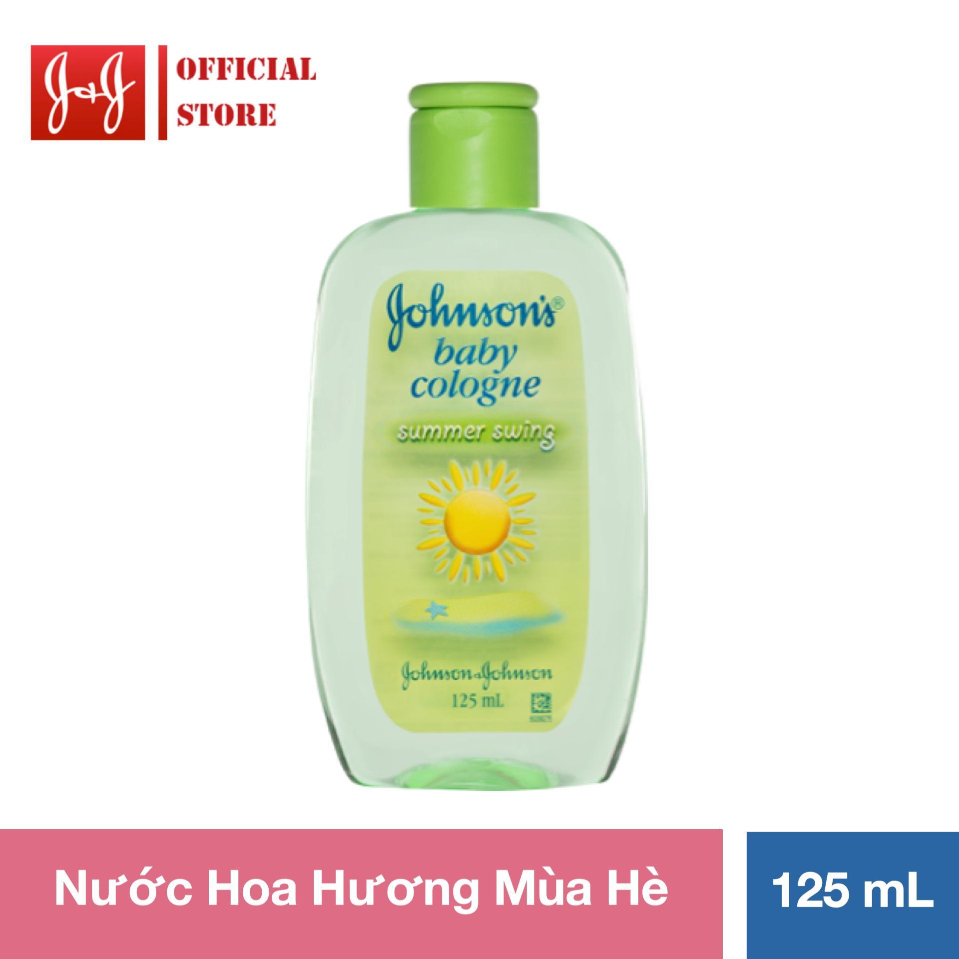 Nước hoa Johnson's Baby hương mùa hè 125ml