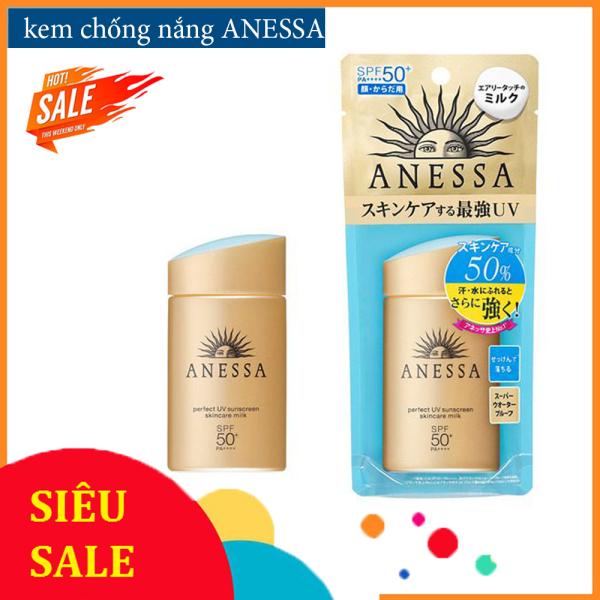 Kem Chống Nắng ANESSA - Ngăn chặn tác hại của tia UV trên mọi bề mặt da và mọi góc độ, Dễ dàng làm sạch với sữa rửa mặt