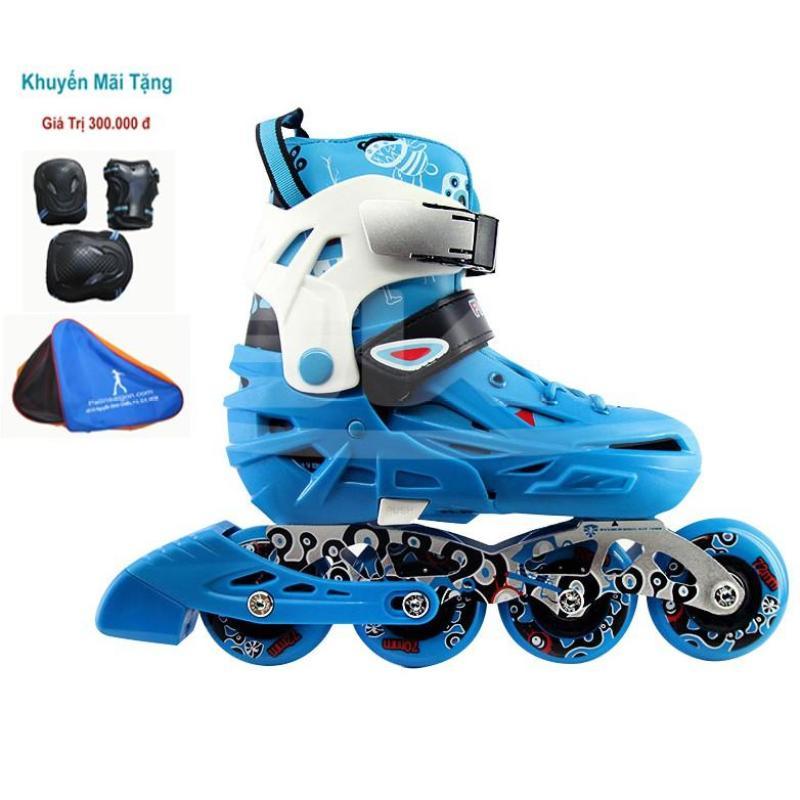 Phân phối Giày trượt patin cao cấp, giày patin trẻ em flying eagle s5s (tặng ngay bộ bảo vệ chân tay gối và Nón)