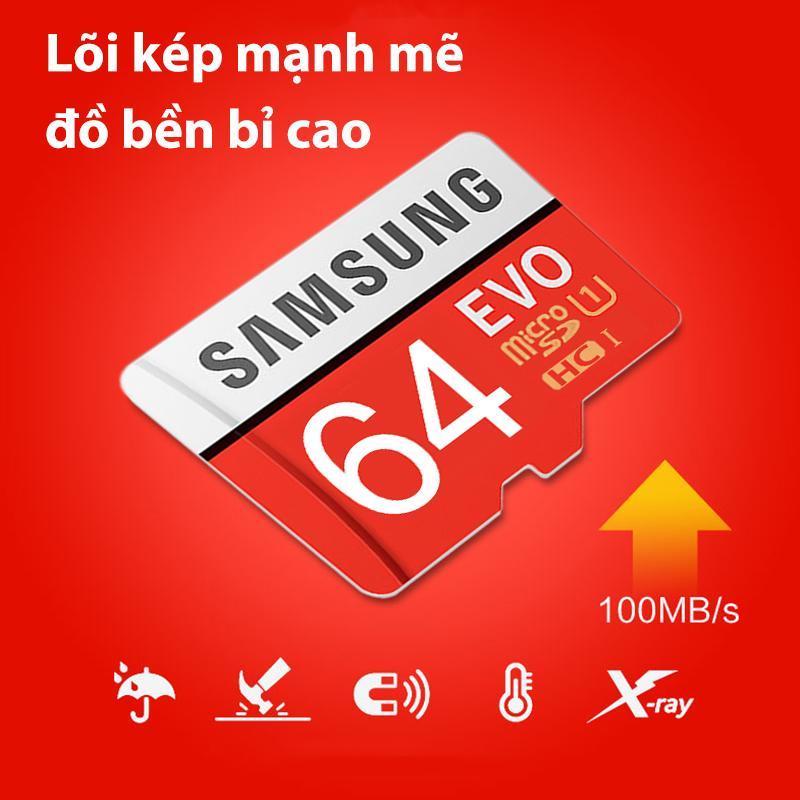 Giá Thẻ Nhớ Samsung 16GB/32GB/64GB Tích Hợp Rộng Rãi Cắm Và Sử Dụng Nhanh Tốc độ Truyền 100M/S Lõi Kép Mạnh Mẽ đồ Bền Bỉ Cao