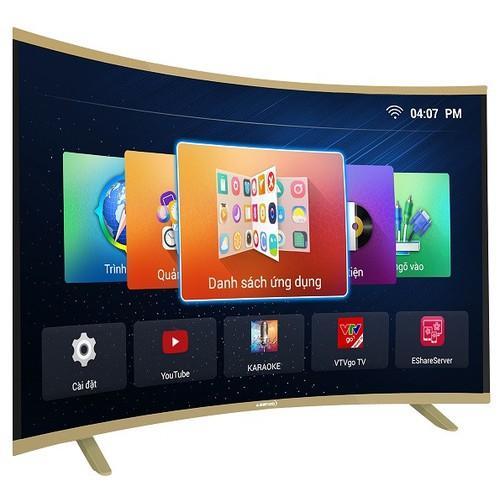 Bảng giá Smart Tivi Led VOICE SEARCH Màn hình cong Asanzo 32 Inch 32CV6600