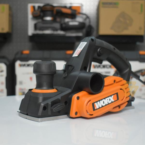 [Thu thập mã giảm thêm 30%] Máy Chà Bào Cầm Tay 750W Worx Orange WX615