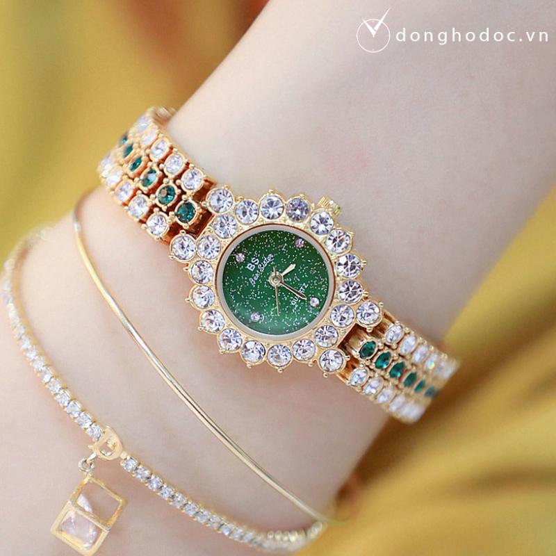 Nơi bán Đồng hồ nữ BS BEE SISTER Nhỏ Xinh Đính Đá Siêu Đẹp - Máy Nhật Cao Cấp - Tặng Kèm Pin ĐH Dự Phòng