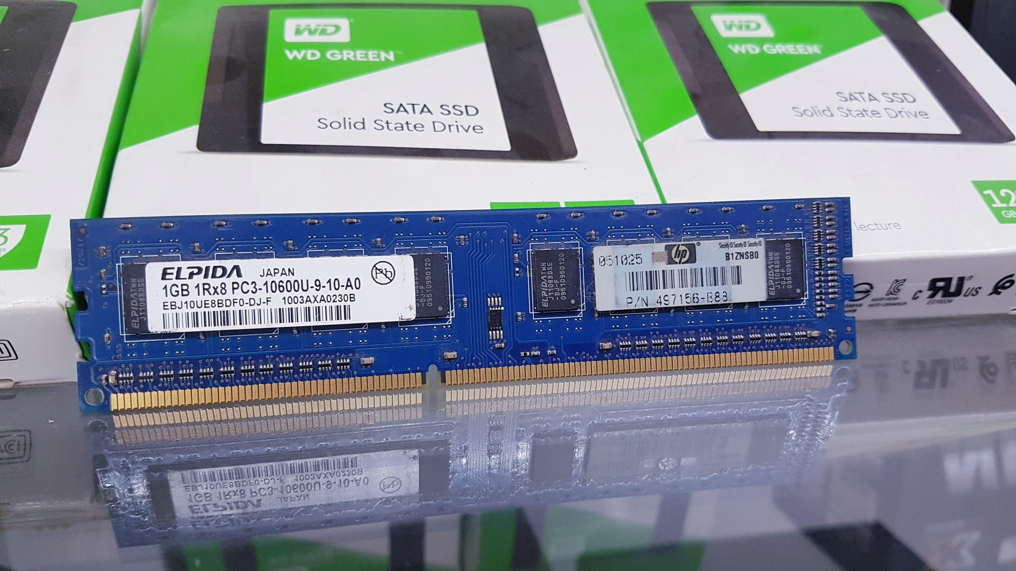 Giá RAM PC 1G DDR3 THÁO MÁY