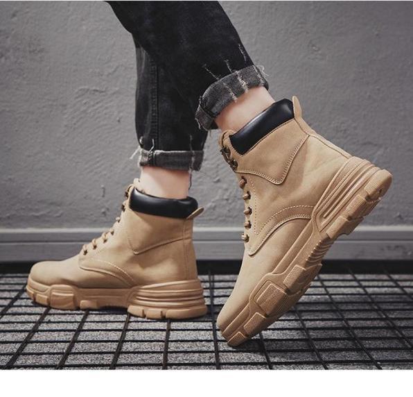 Giày boot nam cổ cao SS465 shop SUNSUN chuyên giày nam đẹp giá rẻ