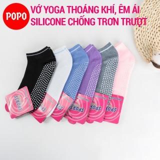 Vớ tập Yoga chống trượt POPO YGS1 tất yoga chất liệu mềm mại thoáng khí thumbnail