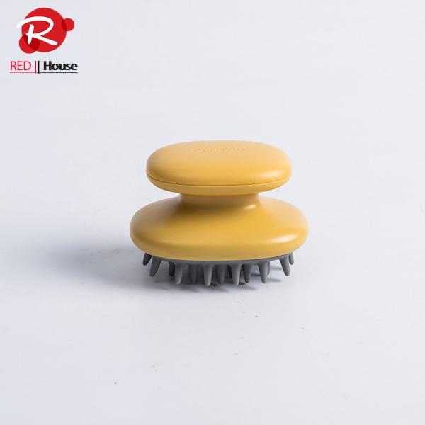 Lược Tròn Gội Đầu Silicon Sạch Gàu Cho Nam Và Nữ