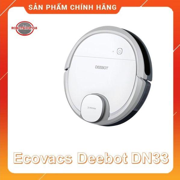 Robot hút bụi lau nhà Ecovacs Deebot DN55/DN33-Hàng trưng bày- Tặng App Ecovacs home