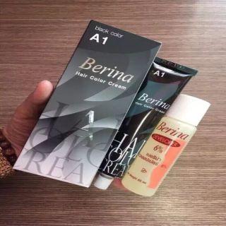 Thuốc nhuộm tóc Thái Lan Berina A1 (Màu Đen) thumbnail