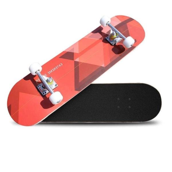 Mua Ván trượt skateboard ván trượt người lớn thể thao mặt nhám chịu lực tốt trục xe hợp kim bánh cao su