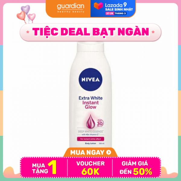 Sữa dưỡng thể sáng da tức thì Nivea White Instant Glow 350ml