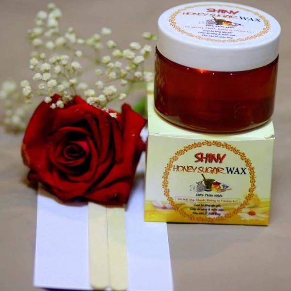 Wax lông mật ong Shiny Handmade 250g tặng kèm dụng cụ wax
