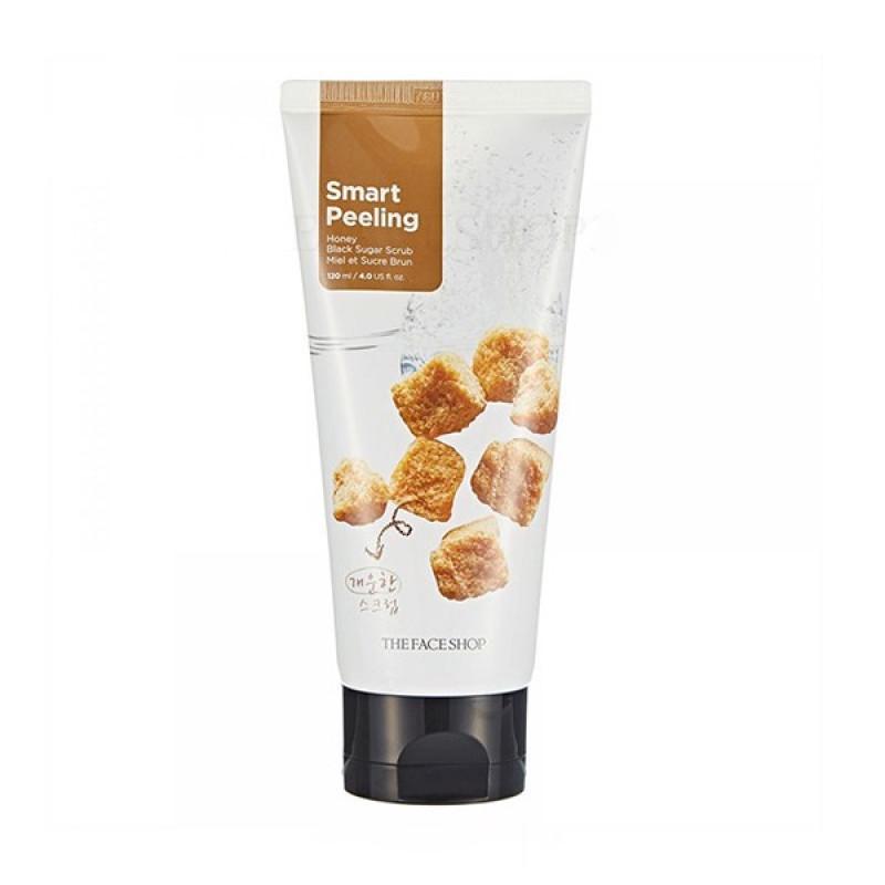 Tẩy tế bào chết đường đen The Face Shop Smart Peeling Honey Black Sugar Scrub giá rẻ