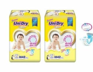 Combo 2 bịt Tã dán Unidry mẫu mới size S48, M42, L38, XL34 miếng thumbnail